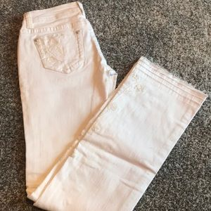 Grace  embroidered jeans !!!!